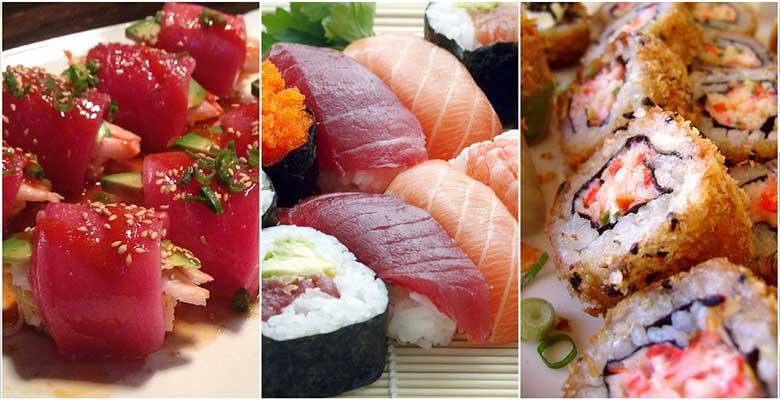Body Sushi Nyotaimori by Montreal VIP